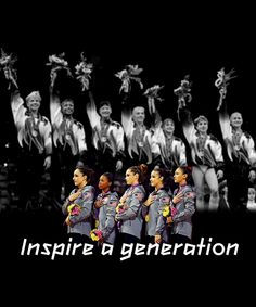 The Magnificent Seven made me want to become a gymnast but I was not small enough. Hopefully this team will inspire so many other girls to go for their dreams. These 16-18 year old girls inspire me
