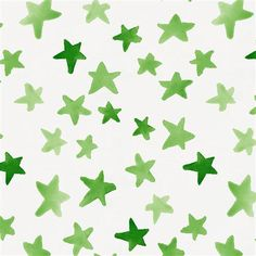 Green watercolor stars fabric printed on antique white background. Fabric is cut to order in one continuous piece. This is an organic cotton, wide, medium weight fabric. Mint Green Aesthetic, Rainbow Aesthetic, Aesthetic Colors, Aesthetic Collage, Aesthetic Gif, Aesthetic Vintage, Aesthetic Pictures, Green Aesthetic Tumblr, Aesthetic Design