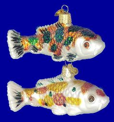 1000 images about oriental christmas ornaments on for Koi fish ornament