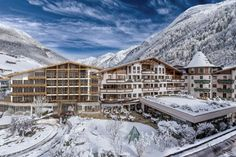 (Das Central) 12 Luxury Hotels With Views To Die For: Das Central Hotel, Sölden, Austria (With nothing short of sublime views of the Alps, Das Central Hotel is licensed to thrill. Little wonder that this luxury hotel, along with its adjoining mountain resort, Ice Q, features so heavily in the New James Bond movie, Spectre. Positioned way up high in the renowned ski resort town of Sölden, the hotel offers views of the snow-topped summits from every vantage point. Decorated in cosy alpine...)