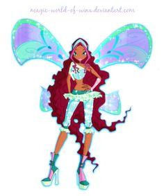 Winx Club Aisha Believix PNG! by Magic-World-of-Winx.deviantart.com on @DeviantArt