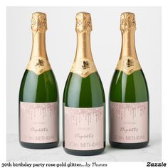 Check out Zazzle's selection of wedding wine and champagne bottle labels! Choose from thousands of unique designs or design your own bottle label today! Champagne Label, Champagne Party, Champagne Bottles, Gold Champagne, Etiquette Champagne, Bottle Labels, Wine Labels, Food Labels, Purple Party