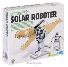 Green Science, Solar-Roboter, Bausatz für Kinder ab 8 Jahren | 111245