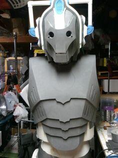 Cyberman in FOAM!!! - WITH PATTERNS!!