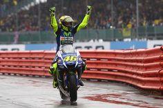 Valentino Rossi (Yamaha Factory) vainqueur du Grand Prix de Grande-Bretagne 2015