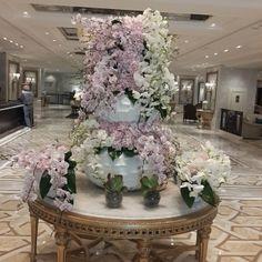 Lobby of Shangri-La Bosphorus, Istanbul -Turkey by Defne Florist