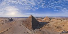 Great Pyramids of Giza in Egypt - the Seventh Wonder of the Ancient World | 360 Degree Aerial Panorama | 3D Virtual Tours Around the World | Photos of the Most Interesting Places on the Earth | AirPano.com