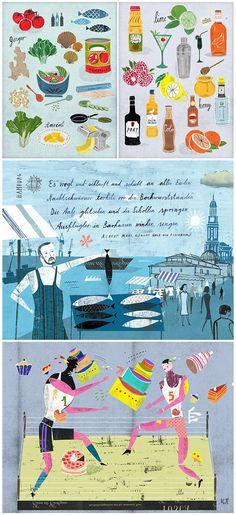 Martin Haake food illustration