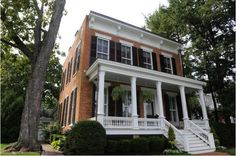 Saratoga Springs N.Y. 1855 brick house :)