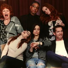 The awesome cast of Once #OnceUponASnore being funny #StorybrookeUKCon #London #England Sunday 4-24-16