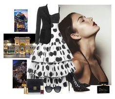 """Touring Italy In Dolce & Gabbana"" by katiethomas-2 ❤ liked on Polyvore"