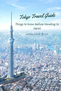 Things to know before traveling to Japan. Tips, how to, should and should not guide