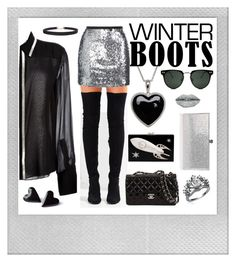 """""""Winter Boots"""" by beanpod ❤ liked on Polyvore featuring Polaroid, Jeffrey Campbell, Topshop, Chloé, Lord & Taylor, Spitfire, Humble Chic, Jimmy Choo, Charlotte Olympia and Forever 21"""
