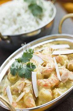 Crevettes korma, la recette facile et rapide