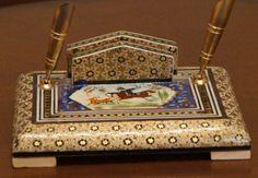 Iran, Isfahan Khatam handicraft art