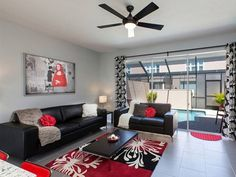red and black living room decor york new name 48 best white images design per il soggiorno just beautiful ashley morrow