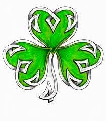 Pretty Celtic Shamrock Leaf Tattoo Stencil By HDevers Gälische Tattoo, Tatoo Art, Body Art Tattoos, Cool Tattoos, Tatoos, Tattoos Skull, Celtic Symbols, Celtic Art, Celtic Knots