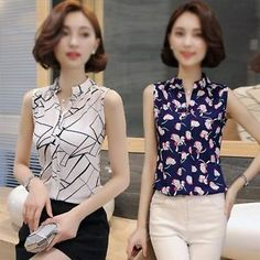 Sexy Women'S Plus Size Chiffon V Neck Tops Sleeveless Shirt Blouse Tops Vest OP | eBay