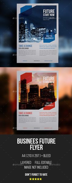 Business Corporate Flyers Template PSD, Vector AI #design Download: http://graphicriver.net/item/business-corporate-flyers/14288573?ref=ksioks