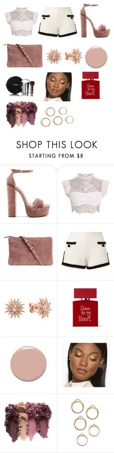 """""""Thank you for all the followers please keep following"""" by peacefulunicorn ❤ liked on Polyvore featuring beauty, Steve Madden, H&M, Moschino, Kenza Lee, Chanel, Bella Freud and Christian Louboutin"""