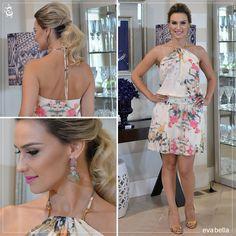 ooks Eva Bella | Vestido frente única em chiffon | Primavera Verão 2015 | www.evabella.com.br
