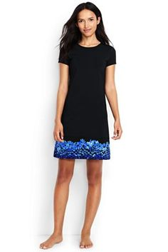 06ee725f891 Try our Women s Swim Cover-up T-shirt Dress at Lands  End.