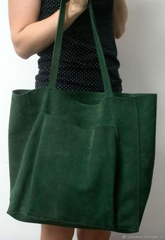 "Julia Jukova Bags Shop Shopper Bag, Genuine Leather Suede, ""Emerald Package"" – Handbag, Leather Bag, Emerald Source by. Purses And Handbags, Leather Handbags, Cheap Handbags, Luxury Handbags, Popular Handbags, Cheap Purses, Guess Handbags, Red Purses, Handbags Online"