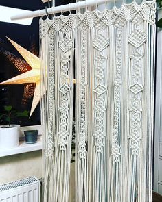 Large Macrame Door Curtains Of 2 Or 1 Panels, Macrame Window Curtain, Large  Macrame Wedding Alter, Macrame Wall Hanging, Boho Altar Backdrop