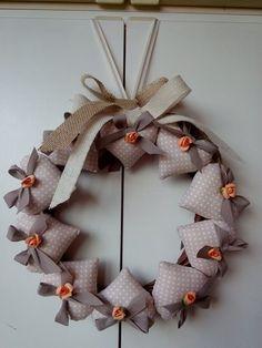 Cuori Christmas Wreaths, Xmas, Holiday Club, Burlap Wreath, Patches, Baby, Crafts, Wedding, Home Decor