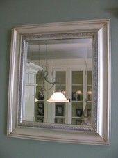 Hopeinen neliö peili | Huonekalut Netistä Kotiisi | Uuttakotiin.fi Oversized Mirror, Bathroom, Mirrors, Furniture, Halloween, Decoration, Home Decor, Dining Room, Washroom