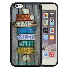 536cf2c32d Harry Potter Direction Sign Rubber Phone Case Cover For iPhone 5 6 Plus 7 8  Plus