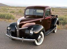 1941 Ford pick up Antique Trucks, Vintage Trucks, Antique Cars, Old Pickup Trucks, Old Ford Trucks, Farm Trucks, 4x4 Trucks, Lifted Trucks, Ford Classic Cars