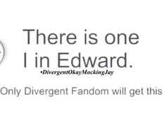 only the TRUE divergent fans ail get this….not the ones who only saw the movie!