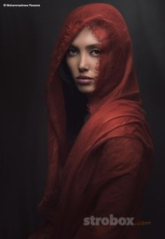 Portrait photo and lighting setup with Beauty Dish by Mohammadreza Rezania (1/160 sec., f/16, ISO: 100) on strobox.com