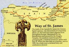 Way Of St. James | walking the thousand-year-old El Camino de Santiago ( Way of St. James ...