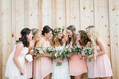 Photography: BAKEPHOTOGRAPHY - www.bakephotography.com/  Read More: http://www.stylemepretty.com/canada-weddings/2014/05/27/vintage-meets-rustic-barn-wedding/