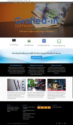 Grafted-In LLC - Web Design, Digital Marketing & Branding - Grafted-In Seo Pricing, Seo Manager, Seo Agency, Greater Good, Cool Tools, Wordpress Theme, Software, Web Design, Business
