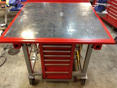 welding table plans or ideas Welding Table Diy, Welding Tips, Welding Projects, Welding Cart, Welding Ideas, Metal Projects, Handyman Projects, Furniture Projects, Design Jobs