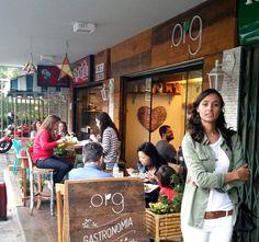 Detalhes do .Org Bistrô já no blog! Vem ver onde comer comidinha orgânica e saudável no Rio.