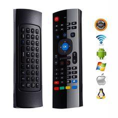 Superisparmio's Post Telecomando AirMouse  Vicloon 2.4 Tastiera G Mini Wireless con Telecomando IR e Multifunzione Apprendimento [3-Gyro  3-Gsensor] per Android TV BoxMini PCHTPC  In offerta a solo 7.99   http://ift.tt/2hJ85v9