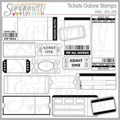 Free Printable Event Ticket Templates (Free Printables