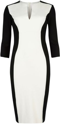 Ted Baker London Ristle Contrast Side Dress