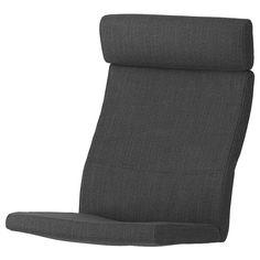 POÄNG Chair cushion, Hillared anthracite - IKEA Media Furniture, Living Furniture, Sofa Furniture, Living Room Chairs, Rugs In Living Room, Cushions Ikea, Chair Cushions, Ikea Canada, Ikea Armchair
