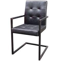 Robuuste stoel Stanley, ook verkrijgbaar in het bruin. Met een stoer metalen frame! Zen Lifestyle is gevestigd in Wijchen bij Nijmegen en heeft showroom van 10.000 m². Natuurlijk vind je in onze winkel onze eigen producten, zoals ons aanbod vintage en retro banken, onze topsellers, zoals het vintage tv-dressoir Stan. Maar ook hebben wij de mooie collectie van Zuiver en Duchtbone en vind je er nog veel meer topmerken, zoals Be Pure, JouwMeubel, UrbanSofa, Fatboy, Makkii, Woood etc.