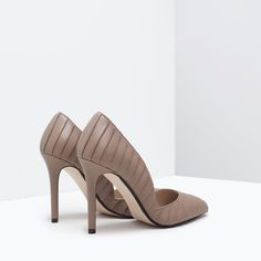 ZARA - COLLECTION SS15 - PLEATED COURT SHOES