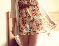 Spring time dress time