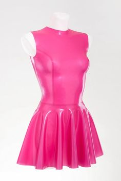 Very sexy latex fit-and-flare dress at Bright&Shiny online store Sexy Latex, Fit And Flare, Sun Flare, Fetish Fashion, Latex Fashion, Fashion Goth, Cute Dresses, Formal Dresses, Tight Dresses