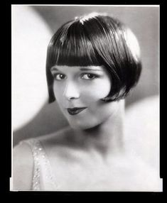 35 Glamorous Glass Plate Negatives of Louise Brooks in the Late 1920s ~ vintage everyday