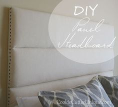 diy headboard panel, diy, repurposing upcycling, reupholster, wall decor