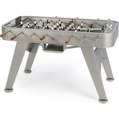 RS Barcelona RS#2 Foosball Table | Inox Stainless